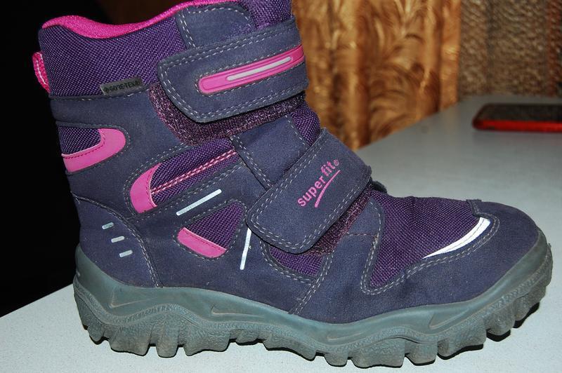 Зимние ботинки super fit 36 размер