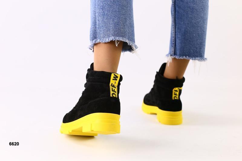 Lux обувь! шикарного качества зимние ботинки на шнуровке 36-40 р