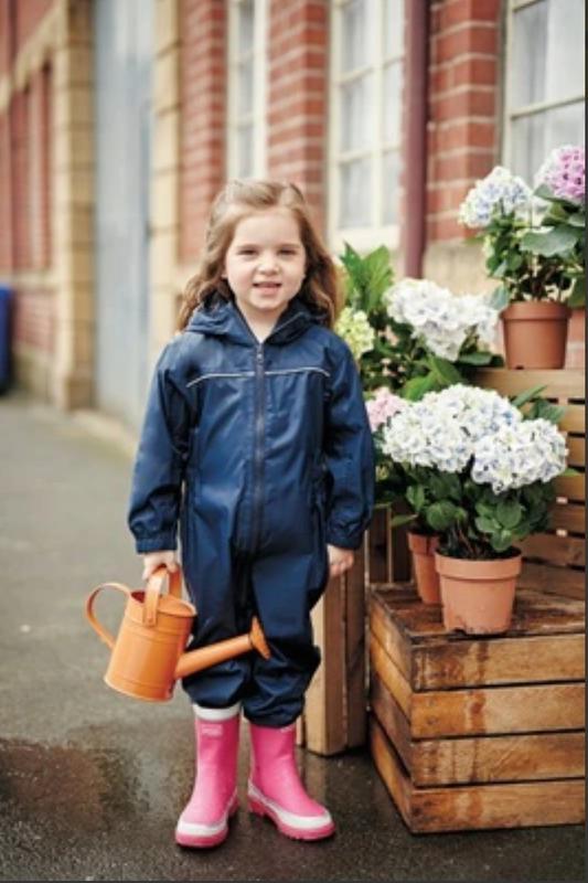 Детский непромокаемый комбинезон-дождевикprospo 2-3 года (92-98)
