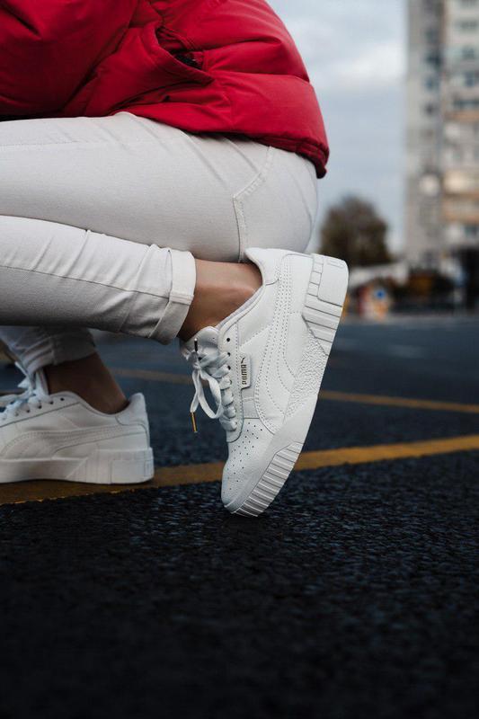 Шикарные женские кроссовки puma cali black 😍 (весна/ лето/ осень)