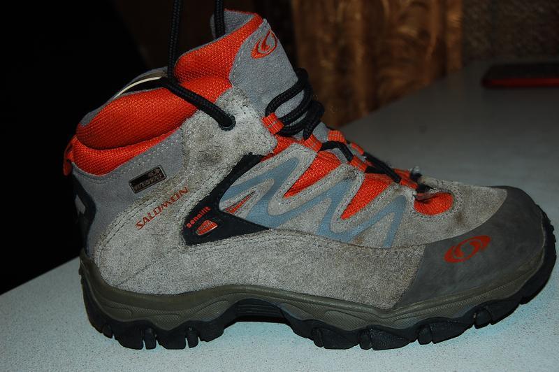 Salomon waterproof деми ботинки 35 размер