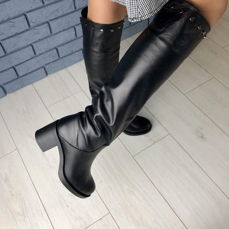 Lux обувь! шикарного качества зимние/евро высокие натуральные ...