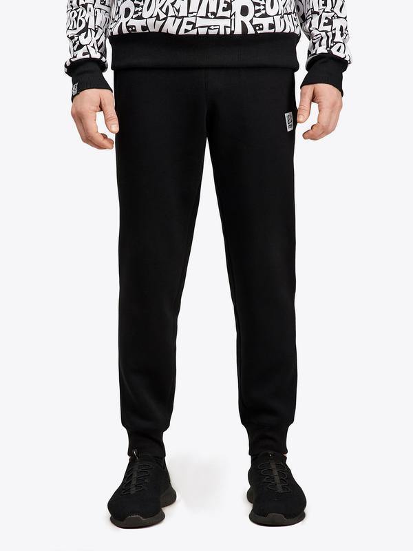Штаны flex black утепленные