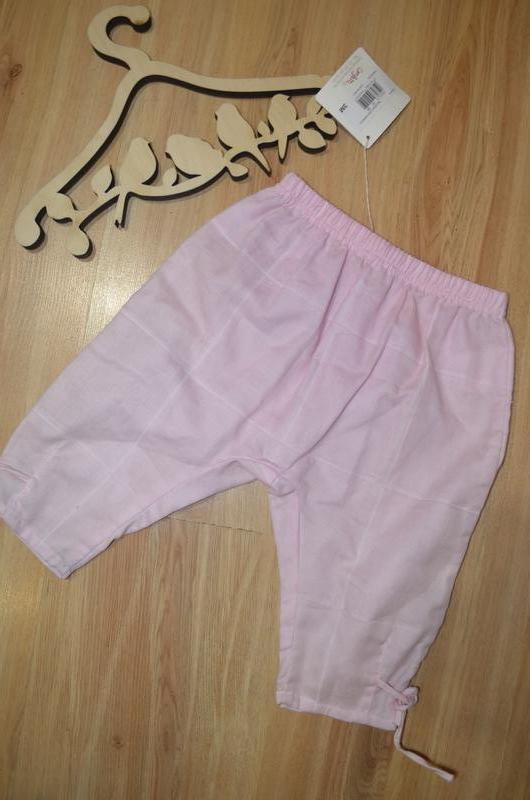 Штанишки для девочки на 3 месяца