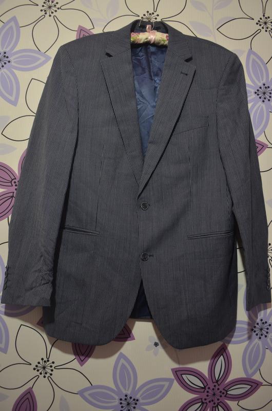 Шикарный брэндовый мужской пиджак сarl gross р.50
