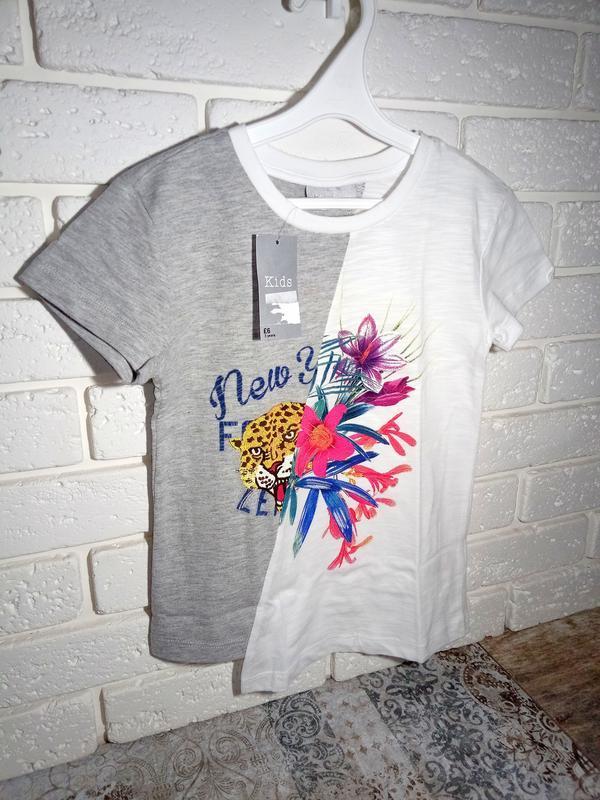Matalan 3 года 98 см футболка интересного кроя