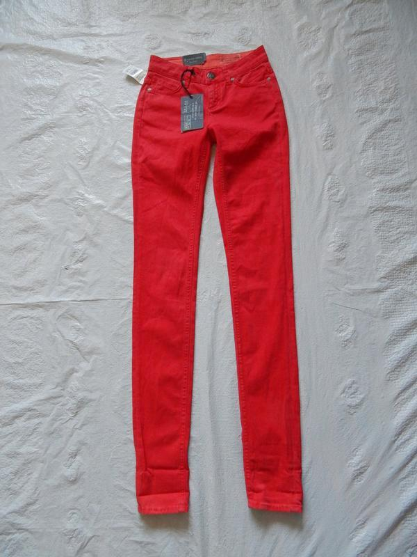 W 24 l32, узкачи джинсы скинни silver greek, нидерланды