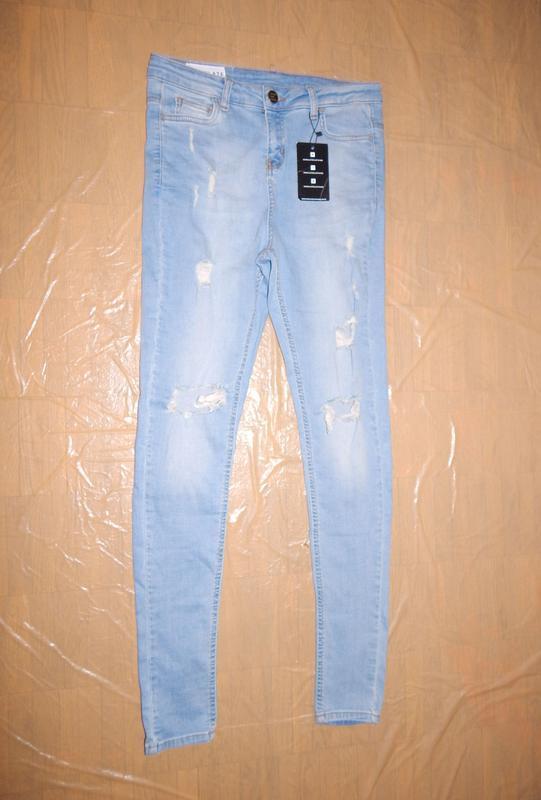 Поб 44-48, узкачи рваные джинсы emulate