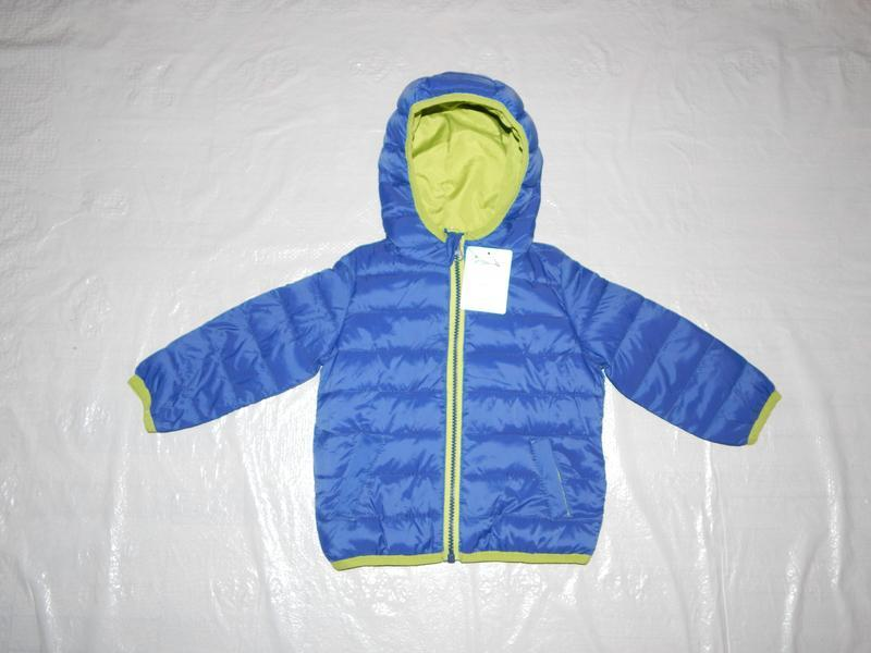 Р. 74-80-86  куртка легкая термо демисезон стеганая impidimpi ...