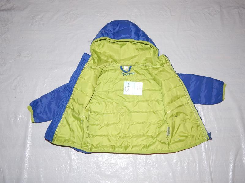 Р. 74-80-86  куртка легкая термо демисезон стеганая impidimpi ... - Фото 4