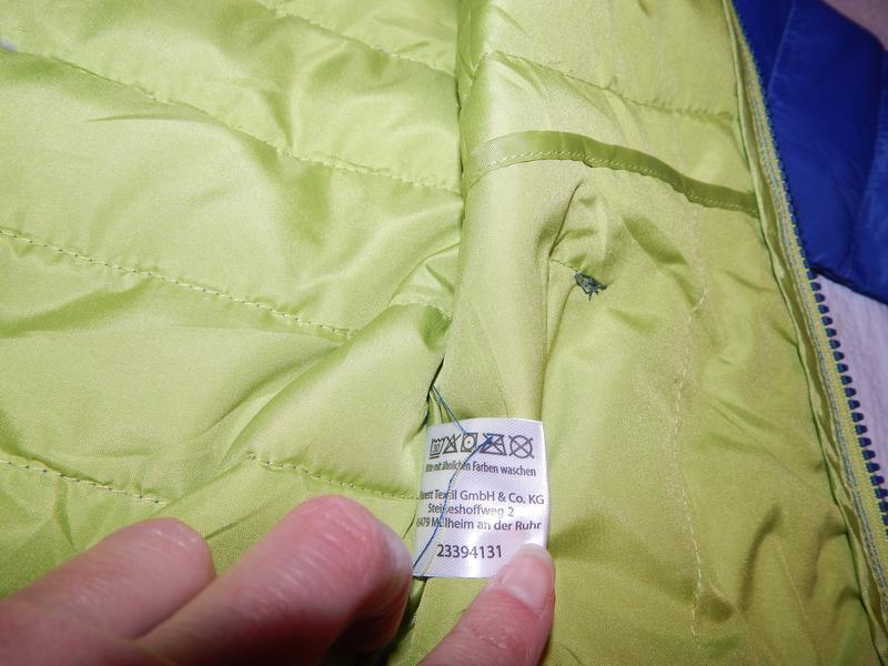 Р. 74-80-86  куртка легкая термо демисезон стеганая impidimpi ... - Фото 5