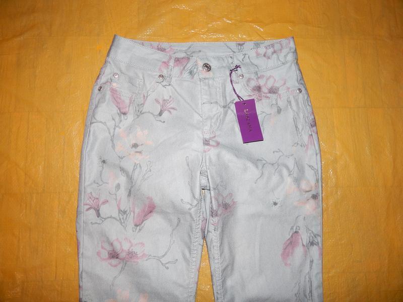 Хs-s, поб 44-48, узкачи укороченные джинсы скинни lascana