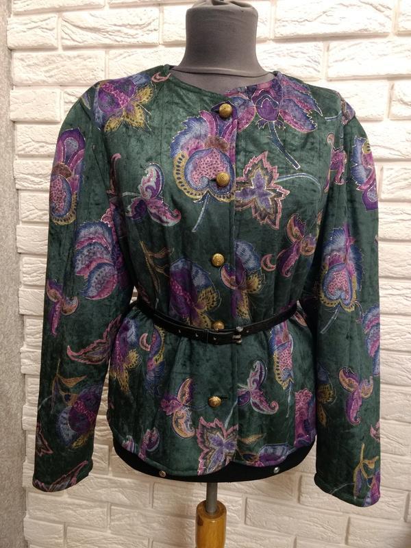 Роскошный пиджак tru blouse винтаж