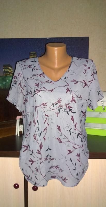 Двухслойная блуза топ кофточка