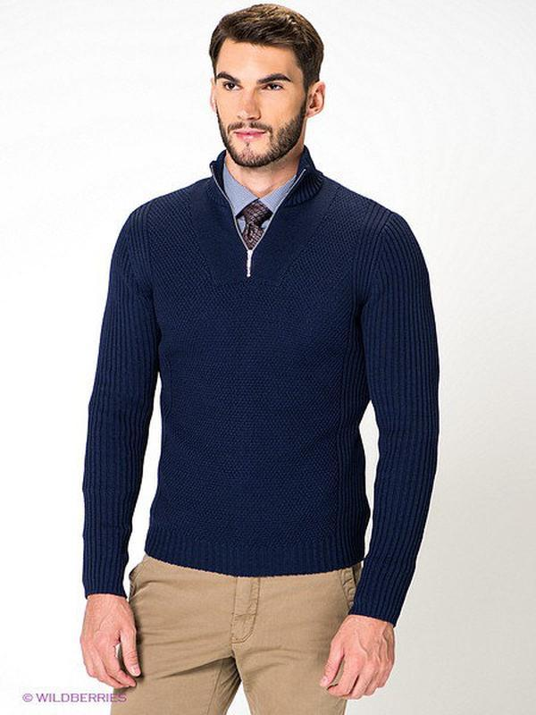 Шерстяной свитер кофта с молнией шерсть 100% next woolmark