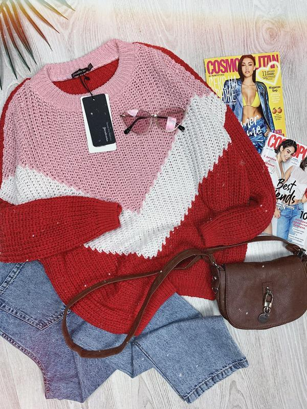 🌿 шикарный удлиненный свитер stradivarius | джемпер |  кофта о...