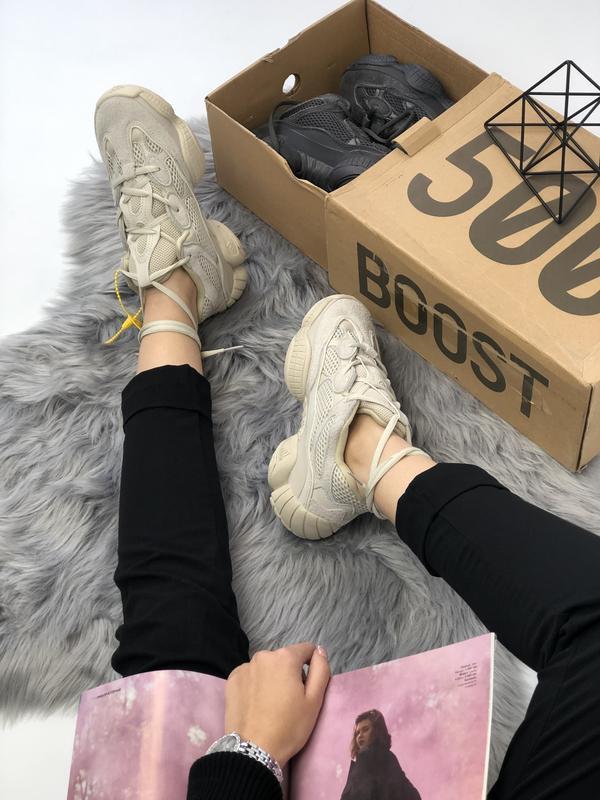 Кроссовки adidas yeezy boost 500 топ качество