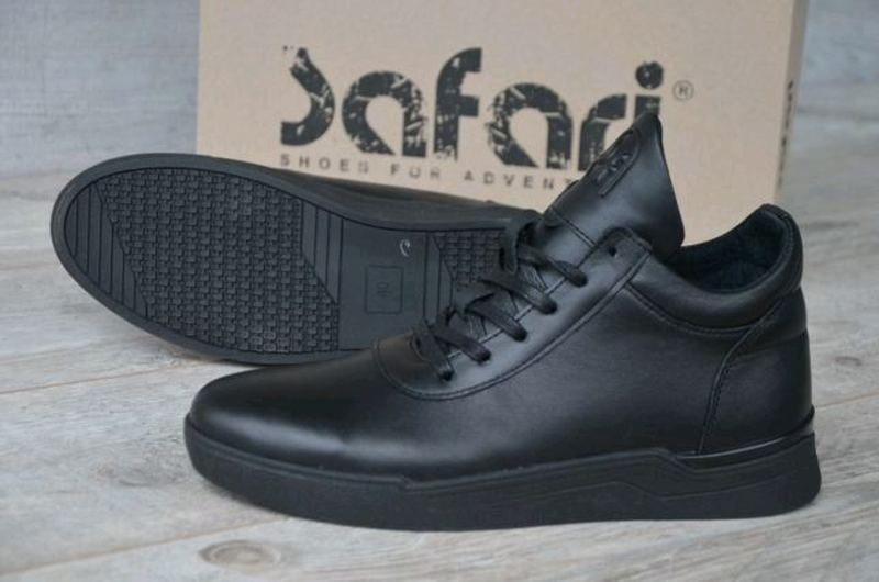 Новинка!  Зимние ботинки на меху Hudromax Original, черные.