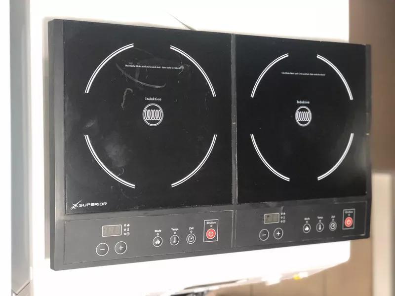 Двухконфорочная индукционная плита Superior S2-B (б/у)