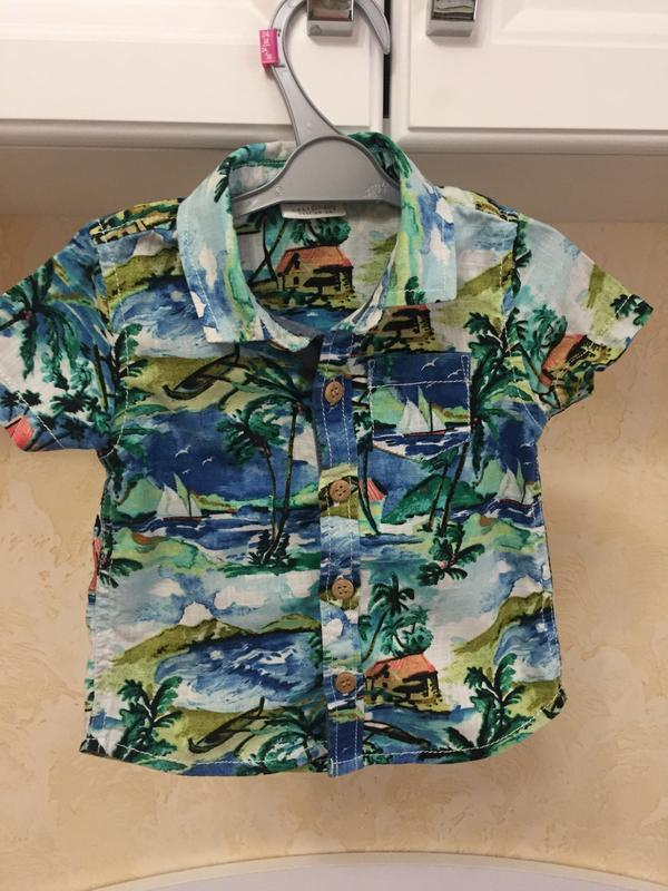 Next рубашка