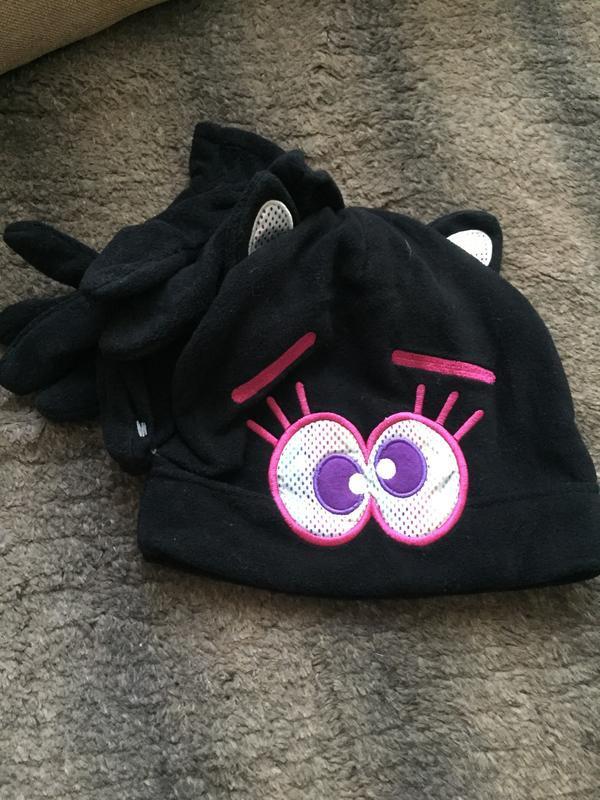 Набор шапка и перчатки