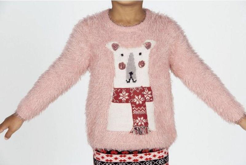 Пушистый свитер lupilu