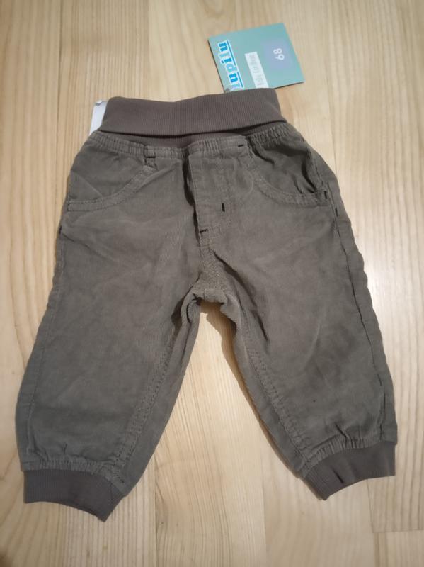 Вельветовые штаны lupilu