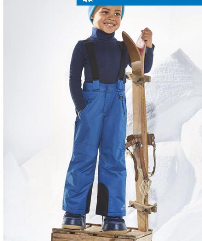 Зимний лыжный комбинезон штаны полукомбинезон