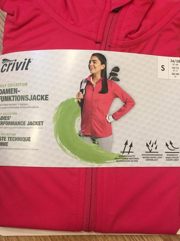Спортивная кофта куртка ветровка crivit