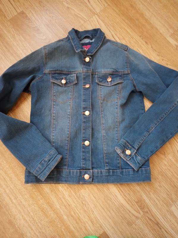 Джинсовая куртка пиджак джинсовый young style