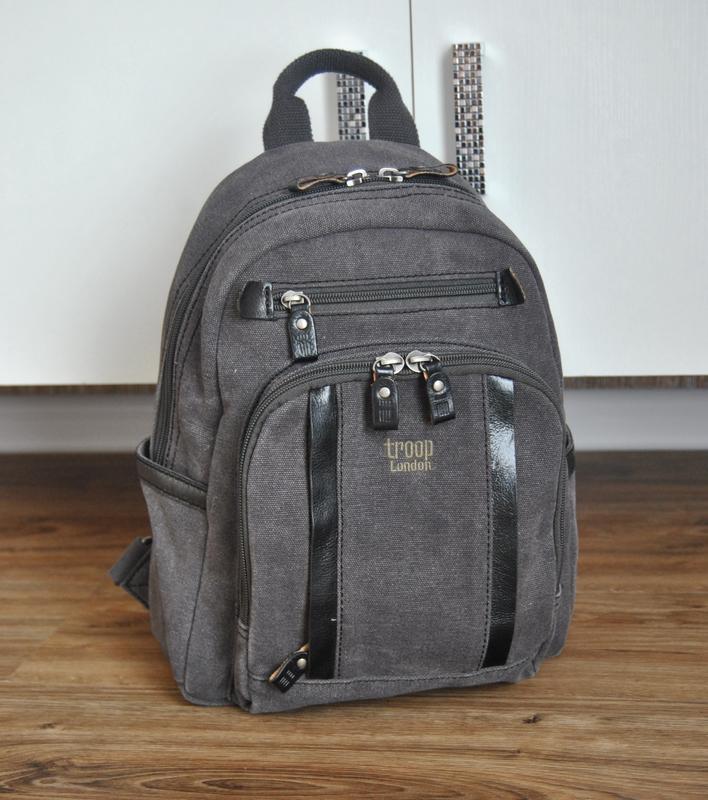 Рюкзак troop london /кожаный городской рюкзак кожаная сумка/