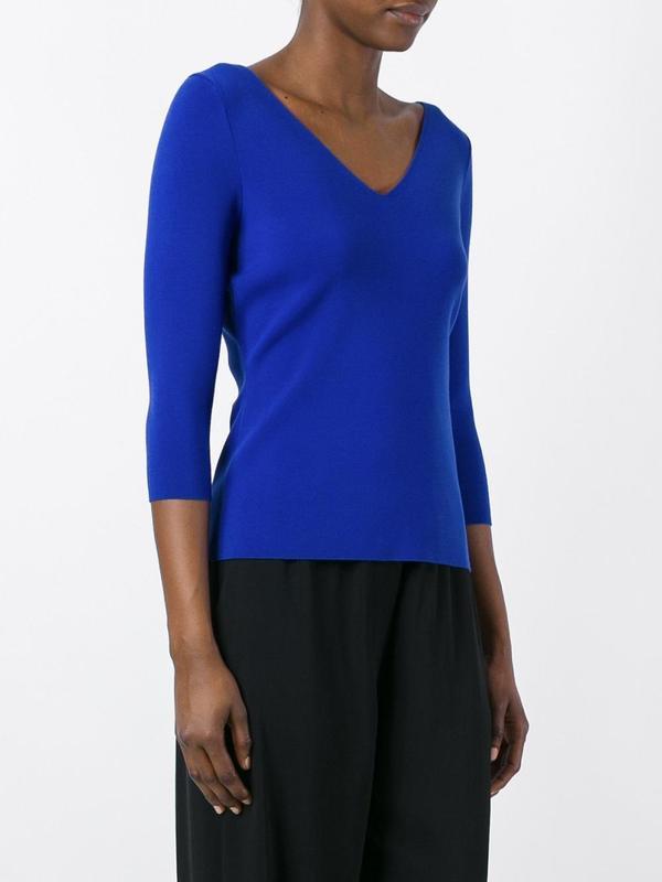Пуловер джемпер свитер с v-образным вырезом atmosphere