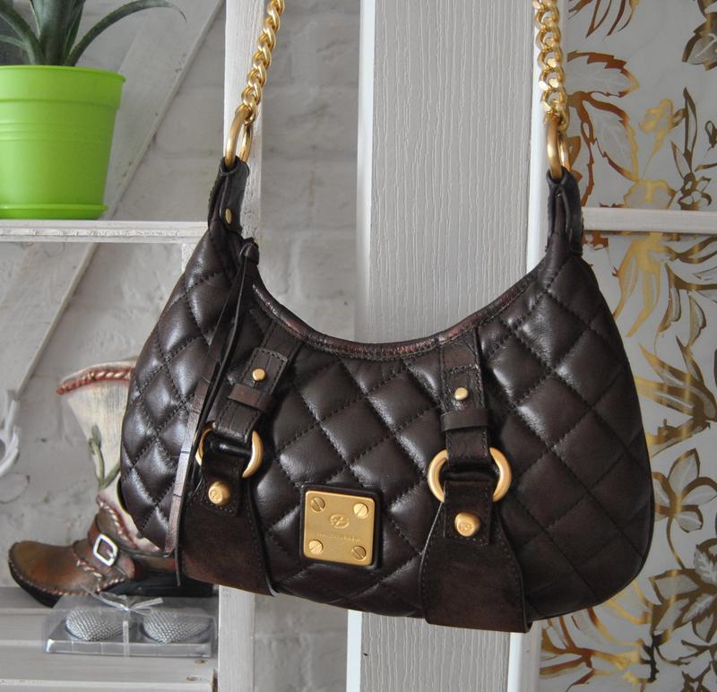 Кожаная сумка кроссбоди francesco biasia / шкіряна сумка