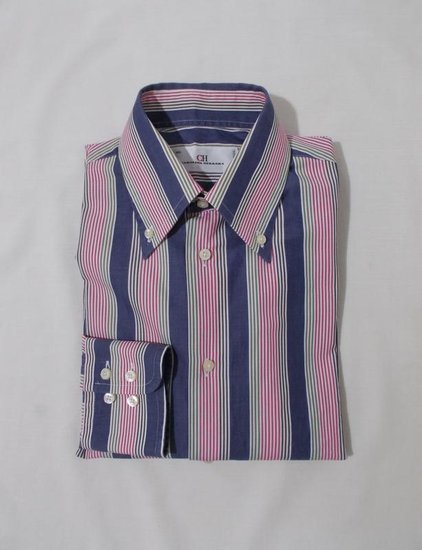 Рубашка полосатая 'carolina herrera' 46-50р