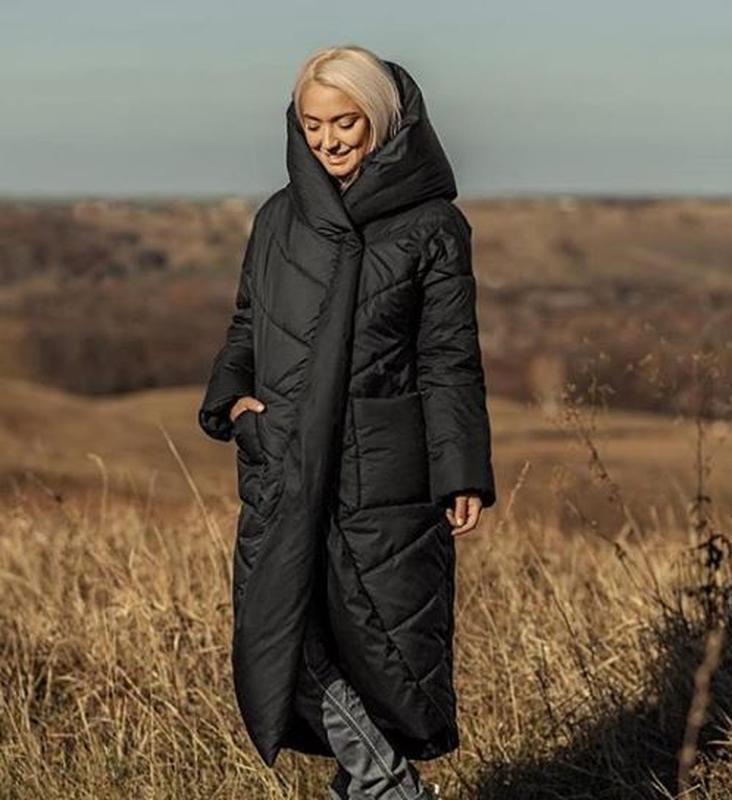 Зимняя куртка marani пуховик зефирка одеяло оверсайз