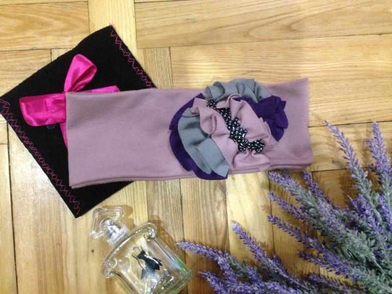 Мастхев для осени! стильная повязка ручной работы