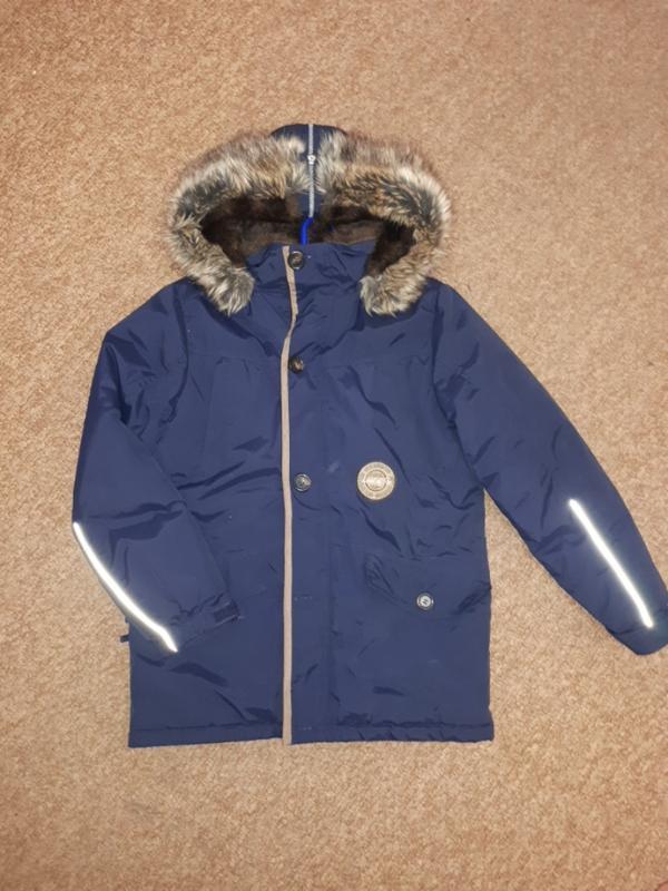 Зимняя куртка парка lenne 152cm