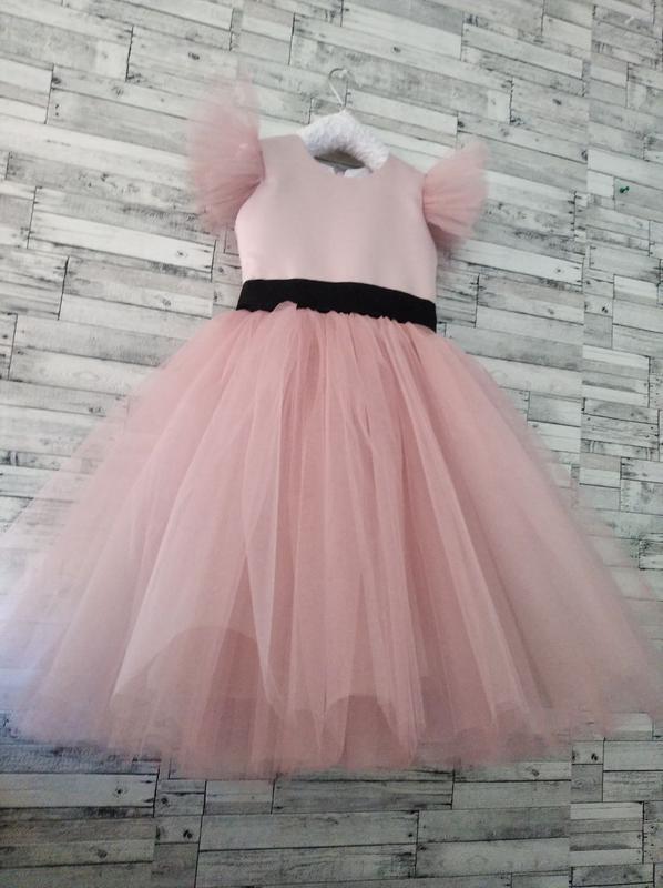 Праздничное нарядное платье детское