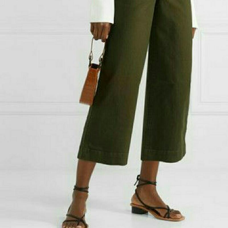 Укороченные брюки кюлоты