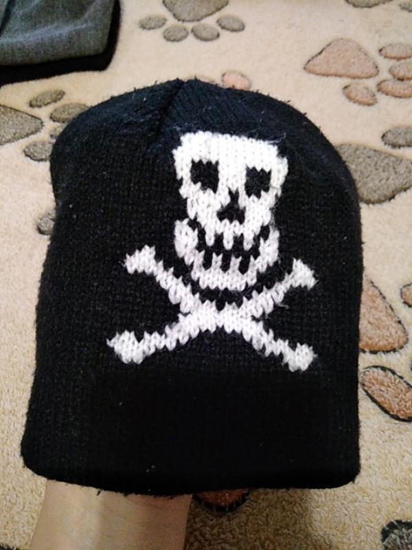 Пиратская шапка на 3-4года