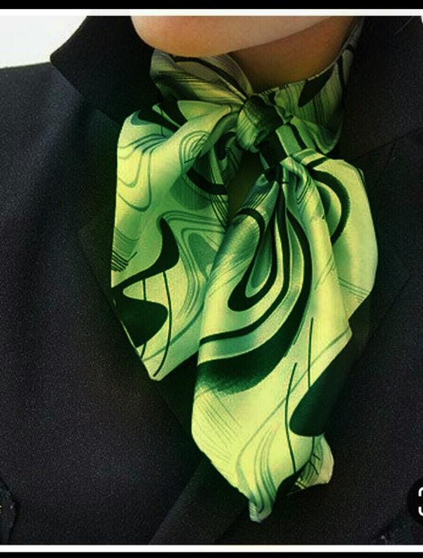 Необычный шейный платок косынка франция