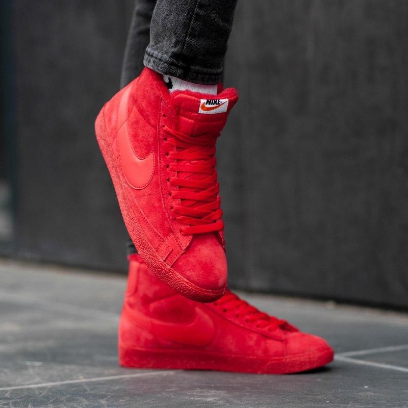 Шикарные мужские зимние кроссовки nike blazer (mex)