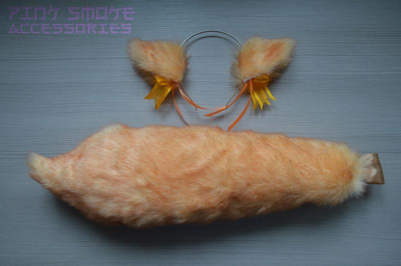 Абрикосовая лисичка, костюм лисы