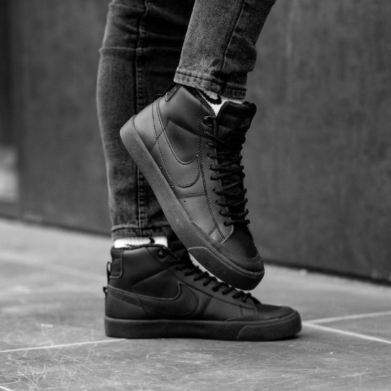 Шикарные мужские зимние кроссовки nike sb (mex)