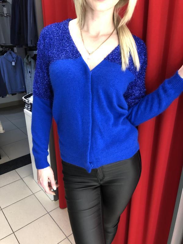 Яркий теплый свитер кардиган asos (905)