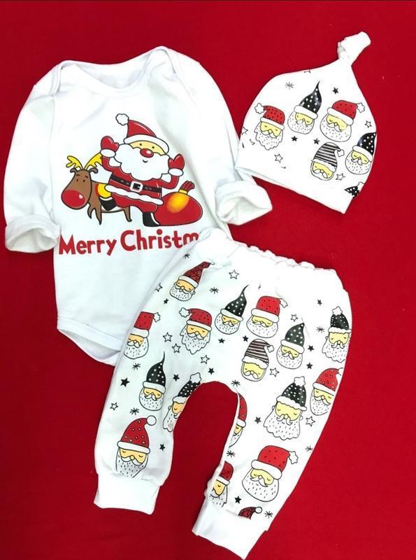Нарядный новогодний костюм для малышей