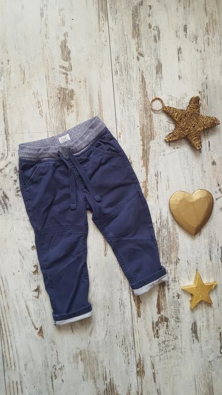 Джинсовые модные штаны
