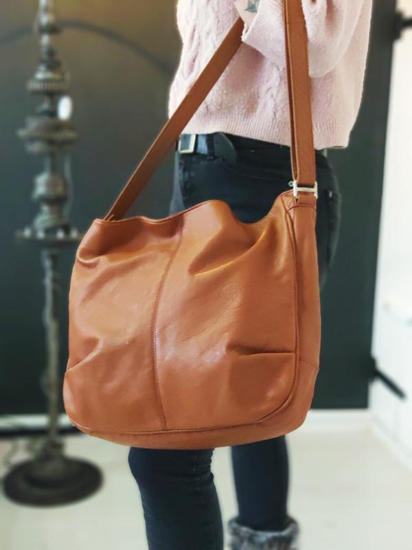 Pamela 100% оригинальная кожаная сумка.