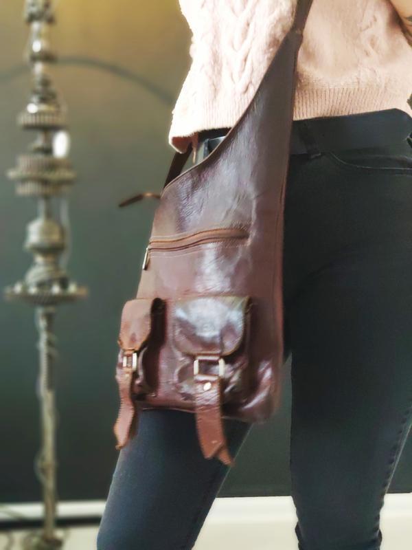 Классная сумка из натуральной кожи. - Фото 2