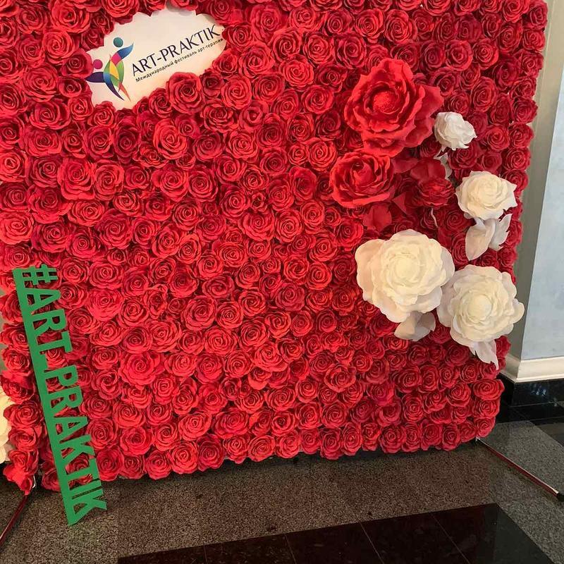 Фотозона розы Аренда Киев,, DekorFentezy,,